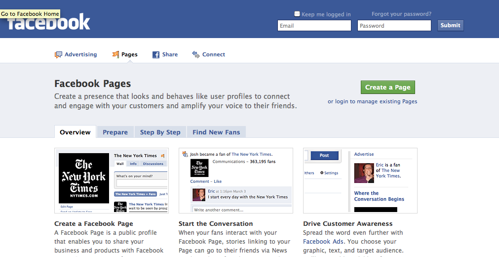 How to create a Facebook Fan Page in 11 steps