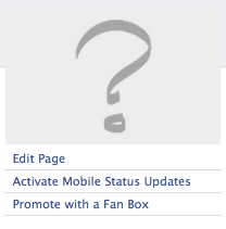 Edit Facebook Page Button