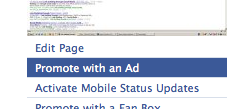 Promote Facebook Page with a Facebook Ad