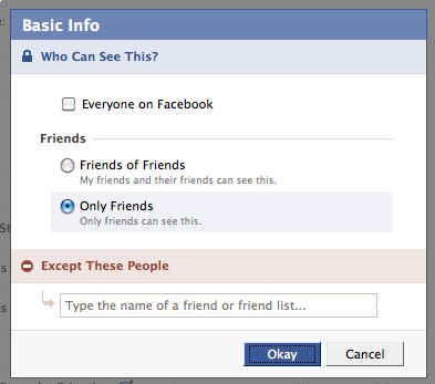 Customize your privacy settings