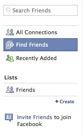 Create Friend Categories on Facebook