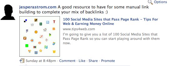 How to use Promote a Post on Facebook