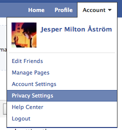 New Privacy settings on Facebook