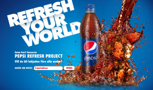 Pepsi Refresh Project comes to Sweden