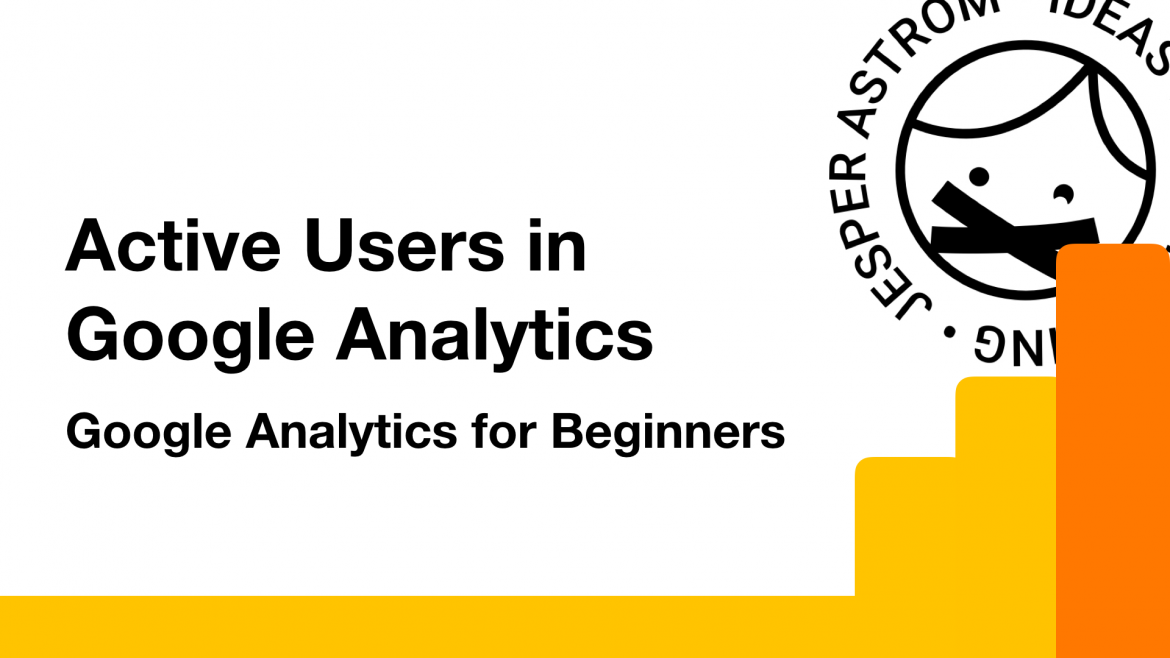 Image of Active users in Google Analytics