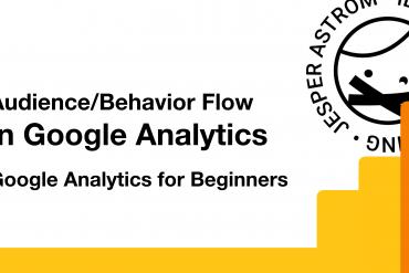 Audience Behavior flow in Google analytics